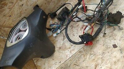 Honley Oliver Wiring Loom starter relay, rectifier, cable fuse speedo light