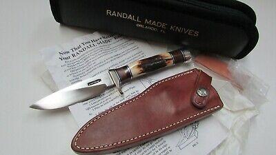 RANDALL KNIFE - MODEL 26 - PATHFINDER - PREMIUM STAG