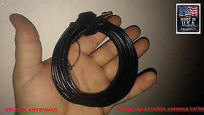 2 METER LONG RANGE PORTABLE HT ANTENNA FOR BAOFENG/WOUXUN/KENWOOD/YAESU/MORE for sale  Marcellus