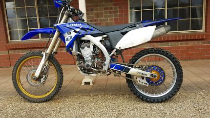 2010 Yamaha YZ250F. Rebuilt