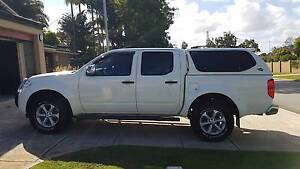 2011 Nissan Navara ST-X Ute 4x4 D40 2.5 diesel auto dual cab Parkwood Canning Area Preview