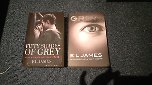 Fifty shades of grey and grey books Narre Warren Casey Area Preview