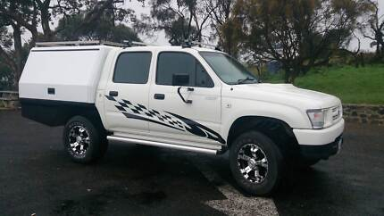 Supercharged Toyota Hilux Dual Cab 4x4 V6 5 SP Manual Tanunda Barossa Area Preview