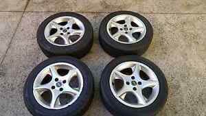 ROH 15in Alloy Mag Wheels 4x100 Kumo & Toyo tyres Chatswood Willoughby Area Preview