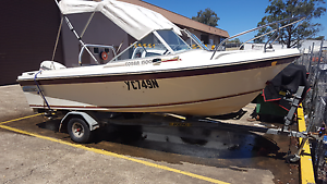 Cruise craft cobra 1500 50 hp North St Marys Penrith Area Preview