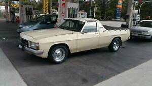 1983 Holden WB Kingswood 6cyl 3 speed Auto on column, Ute. bench seat.