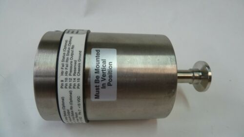 MKS INSTRUMENTS PRESSURE TRANSDUCER 627BRETDD2P RANGE: 33.33 Pa Tested Working