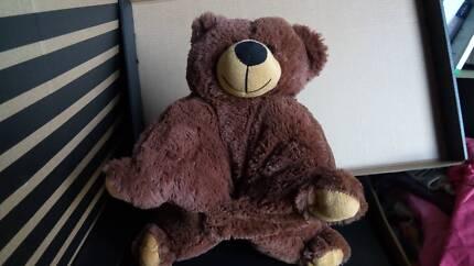 Bear plush pillow (3pieces)
