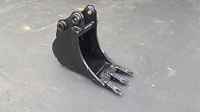 New 12 Sany Sy35 Heavy Duty Excavator Bucket With Coupler Pins