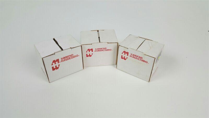 Lot of 3 vintage transformers - Hammond 166L16 162G12 166L5