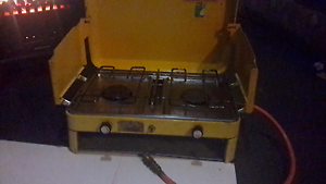 Camping gas stove with grill works great $55 Little Mountain Caloundra Area Preview