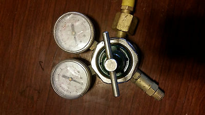 Smith Equipment H1710a-540 Oxygen Regulator Made In Usa