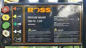 Ross petrol pressure washer 5.5HP. As new Bundaberg Central Bundaberg City Preview