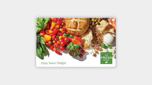 $100 The Fresh Market Gift Card