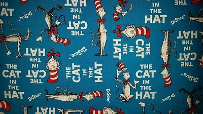 LINED VALANCE 42X15 DR SEUSS CAT IN THE HAT STORY BOOK MOVIE