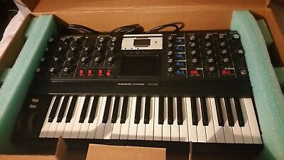 Moog Minimoog Voyager Electr  Blue Synth  Mint Excell  Cond  Never Been Used Nib