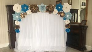 Flower Backdrop Rental