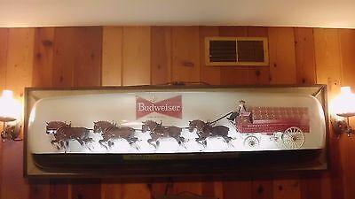 Budweiser Clydesdale Bar Display
