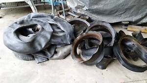 TYRE TUBES  and BANDS 16 INCH MICHELIN BRIDGESTONE ETC Cannons Creek Casey Area Preview