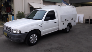 2002 Ford Courier – Trade Service Vehicle North Narrabeen Pittwater Area Preview