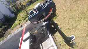 10ft fibre glass dingy outboard Deepwater Glen Innes Area Preview
