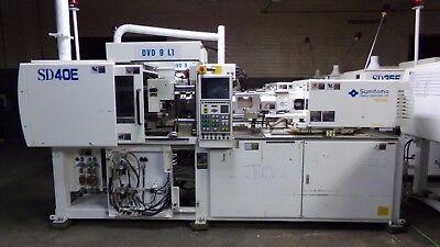 Sumitomo 40 Ton Injection Molding Machine Model Sd40e