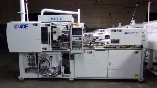 Sumitomo 40 Ton Injection Molding Machine Model SD40E