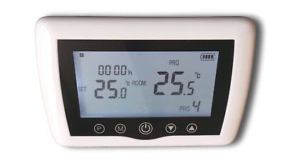 Digital Funk Raumthermostat Thermostat programmierbar Touchkey Serie: TOP #a46