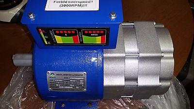 Ct1.8 1500 Watt Pmg 60 Hz Digital Sine Wave Inverter Generator 2200-2800 Rpm