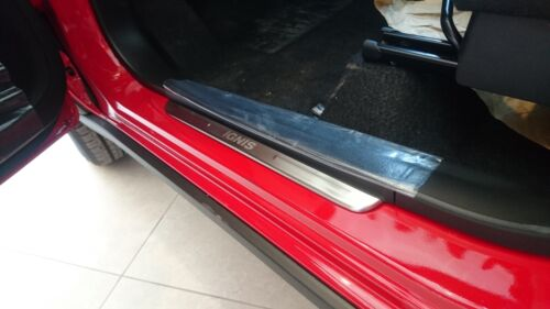 MIT MAZDA CX-5 2013-on LED light door sill plate stainless steel enhancement