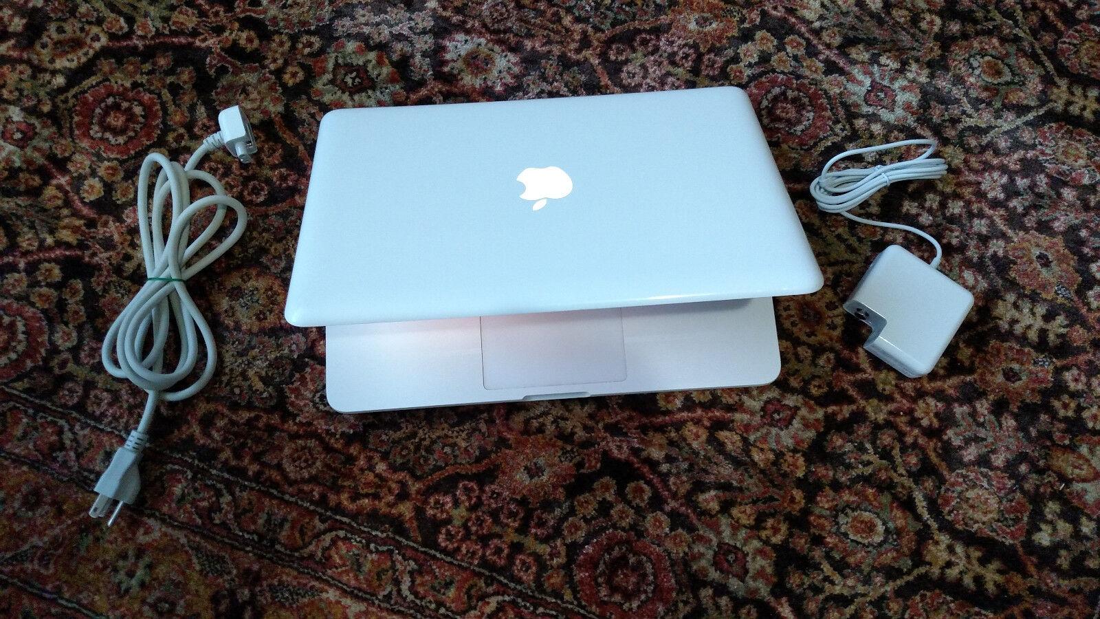 "Apple MacBook White 13"" a1342 NEW 1TB HDD, New 8 GB Ram 2.26 GHz. LATEST MAC OS"