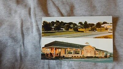 Vintage Postcard Hotel - Bird-In-Hand Motor Inn-Restaurant, Bird-in-Hand, PA