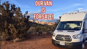 Your ticket to freedom! van conversion / boon docking camper