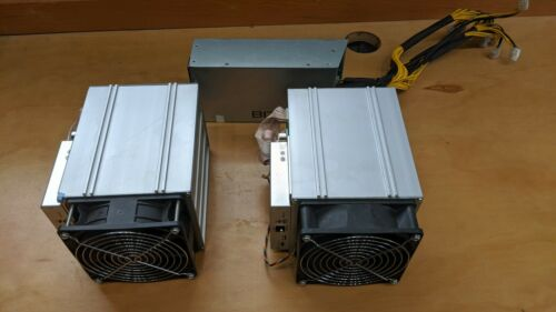 Two (2) Bitmain Antminer Z9  MINI 10-15K Equihash Miner ZEC. WITH POWER SUPPLY