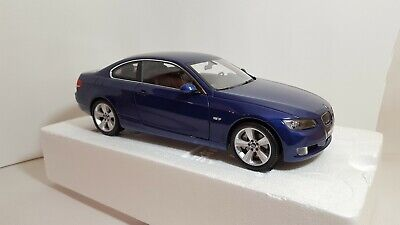 1:18 Kyosho 08736BL BMW 3 Series E92 Coupe Blue 2007