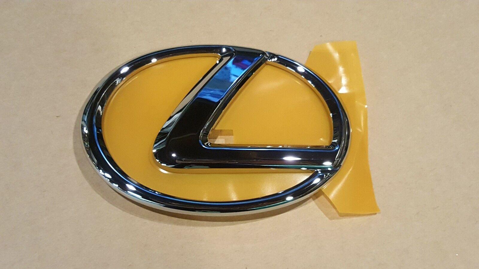 2008 2009 Oem New Lexus Is250 Chrome Front Grille Emblem W