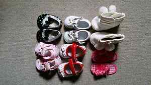 Size 1 & Size 4 baby girl's shoes Gosnells Gosnells Area Preview