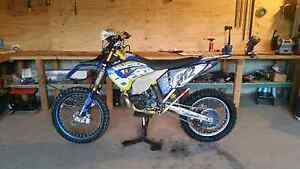 Husaberg te300 Glenorie The Hills District Preview