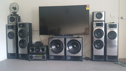 Sony 7.2 home surround system.