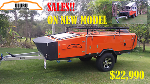 """""""JUST MOVED"""" PROMOTION :SALE ON OFF ROAD REAR FOLD CAMPER TRAILER Kippa-ring Redcliffe Area Preview"""