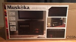 BRAND NEW: Electric Fireplace Media Console