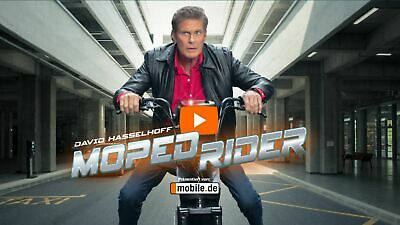David Hasselhoff als Moped Rider