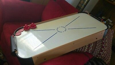 """POWER-SLIDE Air Powered Portable 40"""" Table Top Air Hockey Family Game  USED for sale  Clinton Township"""
