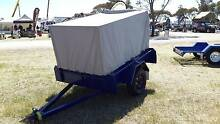 6X4 CAGED TARP TRAILER Adelaide CBD Adelaide City Preview