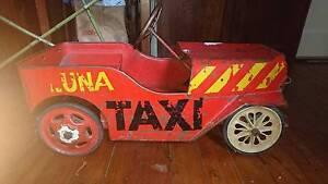 Lunar taxi Treadle car 1920s-30s Bondi Beach Eastern Suburbs Preview
