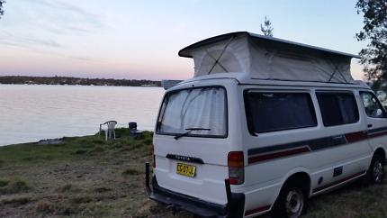 Hiace campervan