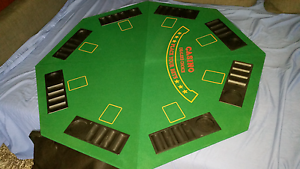 8 seater portable poker table top Baulkham Hills The Hills District Preview