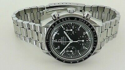 1998 Omega Speedmaster Reduced Automatic 175.0032.1 Cal# 1143 Chrono Steel watch