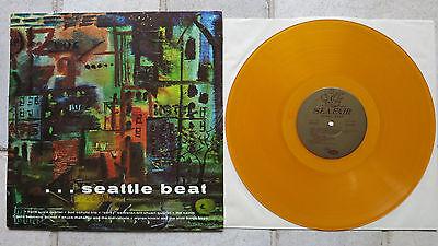 SEATTLE BEAT • Night Beat  LP 1968  Jazz Club Comp. Seafair MLP-1002 yellow wax