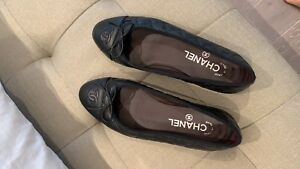 Chanel classic ballerina flats - authentic